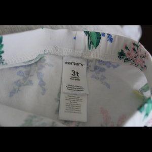 Carter's Bottoms - Carter's floral leggings